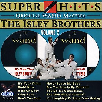 Isley Brothers - Isley Brothers: Vol. 2-Super Hits [CD] USA import