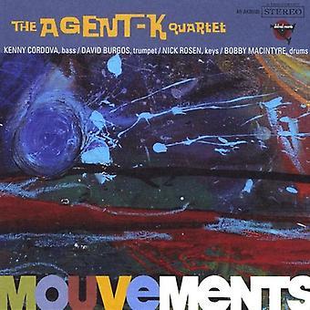 Agent-K Quartet - Mouvements [CD] USA import