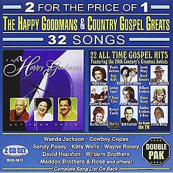 Happy Goodmans - ajustar tus velas: 22 tiempo de todo el Evangelio Hits [CD] los E.e.u.u. importación