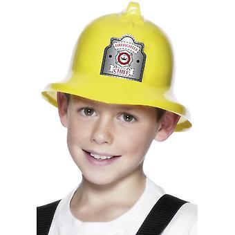 Kids fireman Hat fire helmet to the children costume