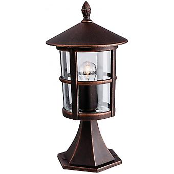 Firstlight Traditional Outdoor Bronze Pillar Top Lantern