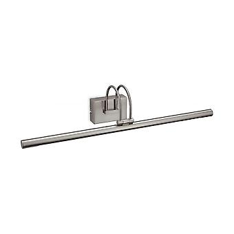 Firstlight Traditional Brushed Steel Picture Wall Light