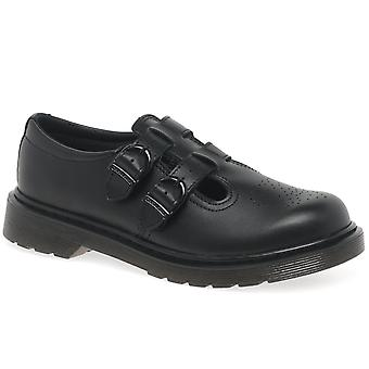 Dr. Martens 2 Strap Girls Senior School Shoes