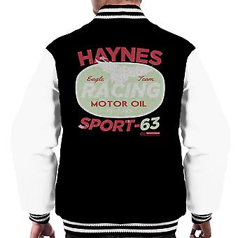 Хайнс Eagle команды Racing моторное масло мужчин Varsity куртка