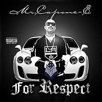 Hr. Capone-E - For respekt [CD] USA import