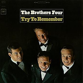 Brothers Four - Try to Remember [CD] USA import