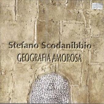 S. Scodanibbio - Geografia Amorosa [CD] USA import
