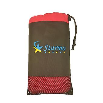 Starmo Quick Dry Sports Travel Towel Lightweight Highly Absorbent Compact Soft Microfibre Large Includes Storage Bag