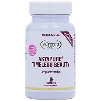 Higher Nature Aeterna Gold AstaPure Timeless Beauty , 30 Capsules