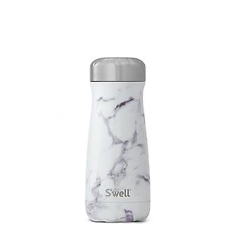 S'well White Marble 16 Swell Traveller Cup