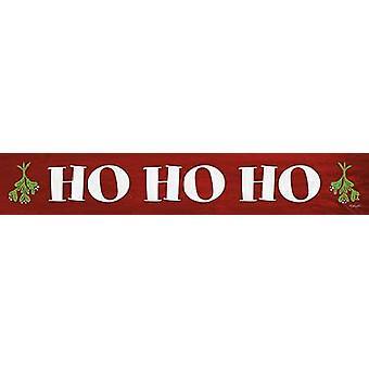 Ho Ho Ho cartel imprimir por Lauren Rader (36 x 6)