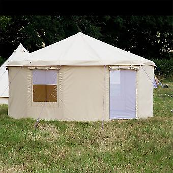 Boutique Camping 5m Yurt Tent With Zipped In Groundsheet