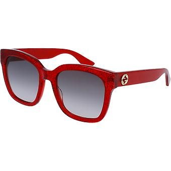 Gucci 0034/S red gray gradient