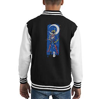 Inked Moon Sailor Moon Kid's Varsity Jacket