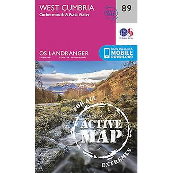 West Cumbria Cockermouth Wast Water av Ordnance Survey