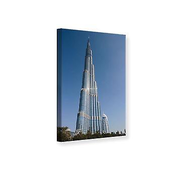 Lærred Print skyskraber Dubai
