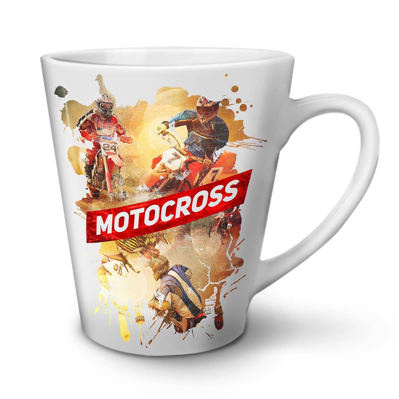 De Latte Nouvelle Tasse Céramique 12 Dérive Café Blanche Motocross OzWellcoda En y8wmnvON0