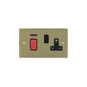 ハミルトン Litestat ・ チェリトン ビクトリア朝サテン真鍮 45DP + N + SS1 BL/赤/BL