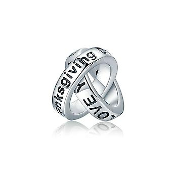 Sterling silver charm Thanksgiving gift SCC227