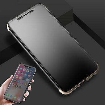 Original ROCK shadow smart cover gold bag cover case for Apple iPhone X / 10 5.8 inch