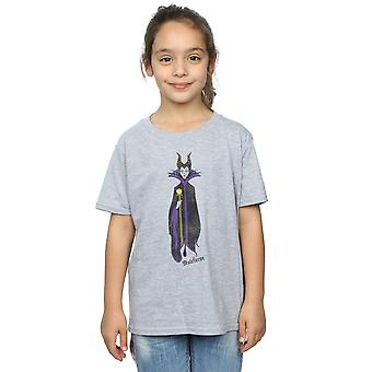 Disney Girls Sleeping Beauty Classic Maleficent T-Shirt