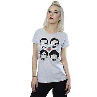 The Big Bang Theory Women's Doctors And Mr T-Shirt