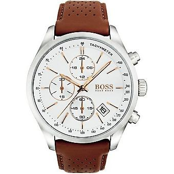Boss watches mens watch contemporary sports Grand Prix chronograph 1513475