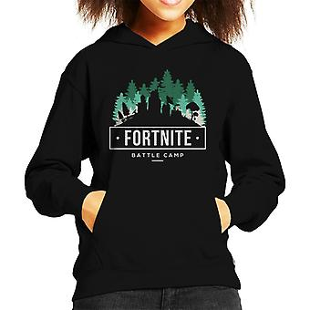 Fortnite Schlacht Camp Kinder Sweatshirt mit Kapuze