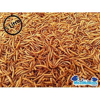 5 Liter Getrocknete Mehlwürmer für Geflügel