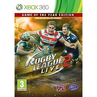 Rugby League Live 2 - Game Of The Year Edition (Xbox 360)