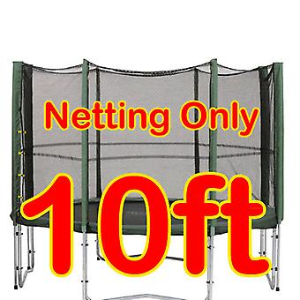 10ft Replacement Netting For Trampoline Enclosure