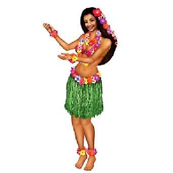 Recorte de chica hawaiana Hula articulado