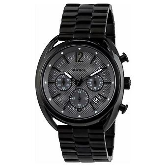 Breil Beaubourg Stainless Steel IP Black Chronograph Grey Dial TW1664 Watch