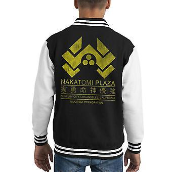 Sterben Sie schwer Nakatomi Plaza Logo Kid Varsity Jacket