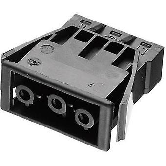 Mains connector AC Series (mains connectors) AC Socket, vertical vertical Total number of pins: 2 + PE 16 A Black Adels-Contact AC 166 GEBU/ 3 1 pc(s)
