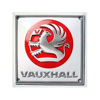 Vauxhall Stove Enamelled Badge 120Mm X 120Mm