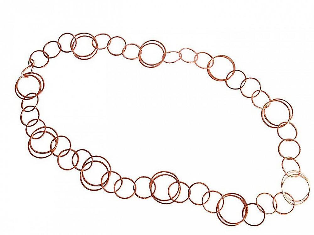 Schöne lange Kette - femmes - Halskette - Rose Veroret - 90 cm