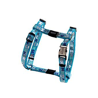 ROGZ Lapz trendige H-Gurt klein blau