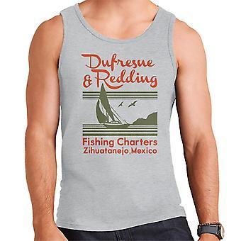 Dufresne Redding Fishing Shawshank Redemption Men's Vest
