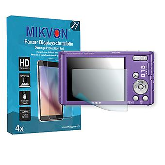 Sony DSC-W830 Screen Protector - Mikvon Armor Screen Protector (Retail Package with accessories)