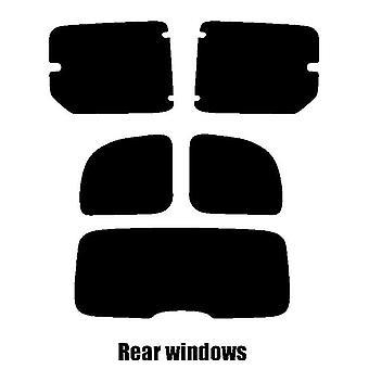 Pre cut window tint - Renault Kangoo (Hatchback boot) - 2007 and newer - Rear windows