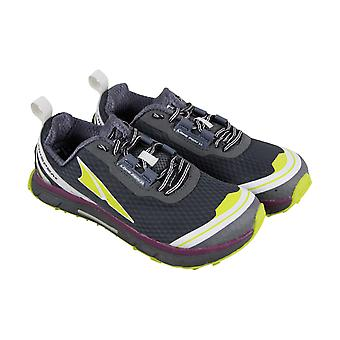 Altra Lonepeak 2.0 Womens Gray Textile Athletic Lace Up Running Shoes