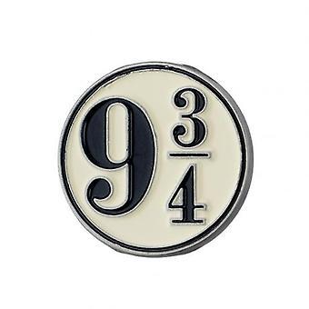 Harry Potter Badge 9 & 3 Quarters