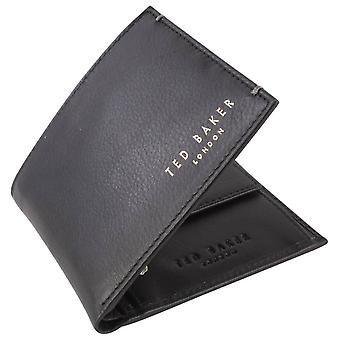 Ted Baker Harvys Bifold and Coin Wallet - Black