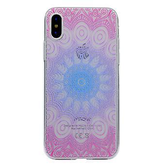 iPhone X TPU Skal - Mandala