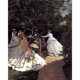 Femmes en Colin, Claude Monet, 50x40cm