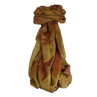 Varanasi silke skjerf Heritage langtrekkende Anand 5 rødme av Pashmina & Silk