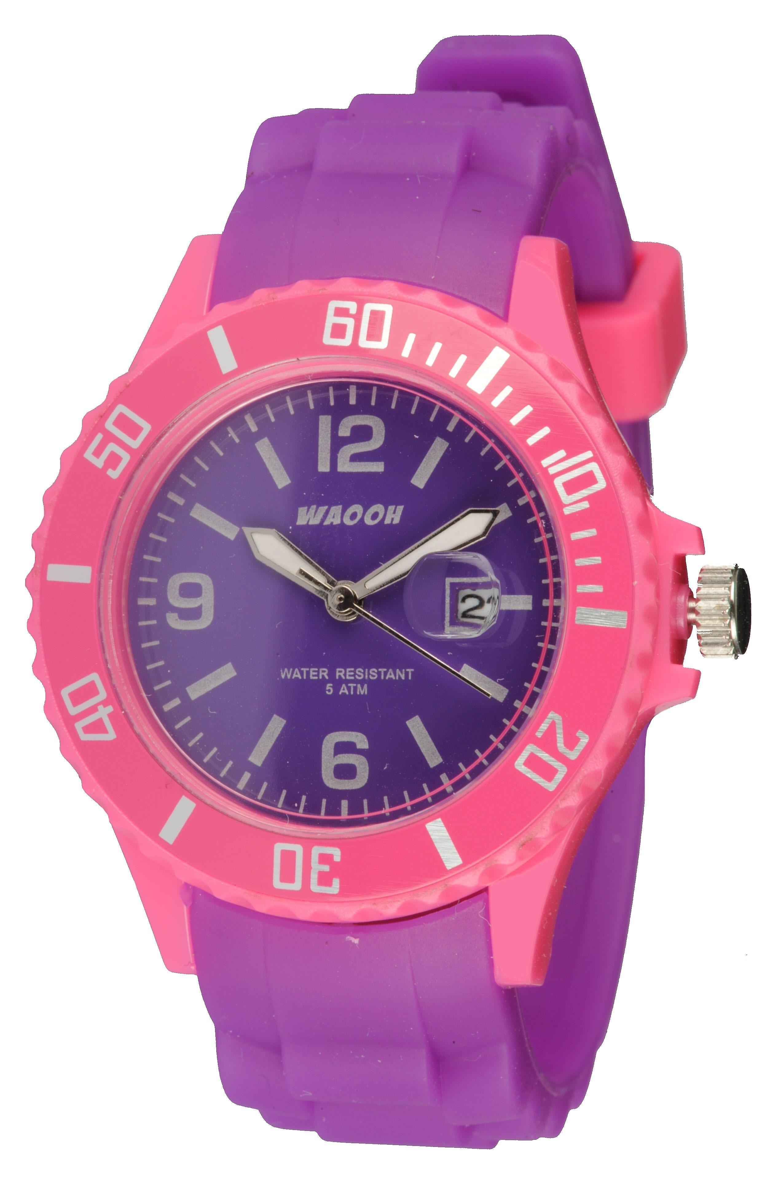 Waooh - Monaco34 Watch - Two Tone Pink &
