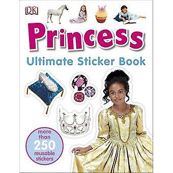 Principessa Ultimate Sticker Book di DK - 9780241247365 libro