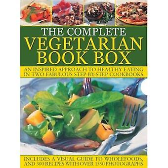 La boîte de livre végétarien complet - une approche inspirée de sain manger